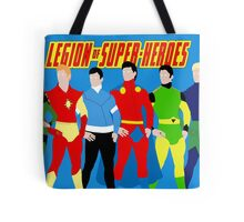 Legion of Super-Heroes Minimal 3 Tote Bag
