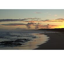 Waitpinga Sunset Photographic Print