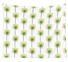 Flower back. Wall Tapestry
