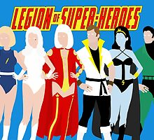 Legion of Super-Heroes Minimal 4 by TheWrightMan