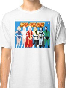 Legion of Super-Heroes Minimal 4 Classic T-Shirt