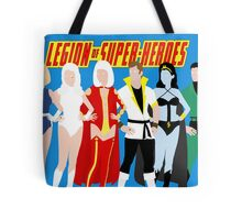 Legion of Super-Heroes Minimal 4 Tote Bag