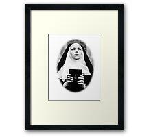 Satanic Nun Framed Print