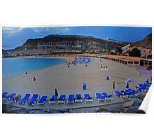 Playa de Amadores Poster