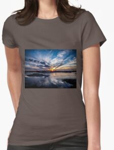 June Glow Womens Fitted T-Shirt