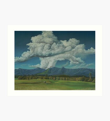 Thunderhead Over Lansdowne Art Print