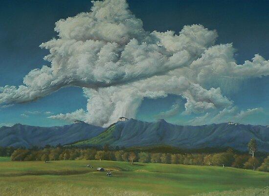 Thunderhead Over Lansdowne by louisegreen