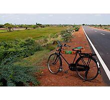 Bicycle, Tamil Nadu Photographic Print