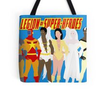 Legion of Super-Heroes Minimal 5 Tote Bag