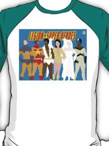 Legion of Super-Heroes Minimal 5 T-Shirt