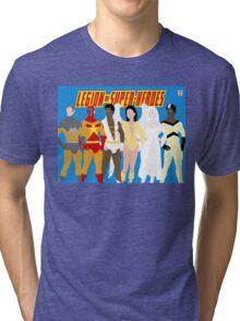 Legion of Super-Heroes Minimal 5 Tri-blend T-Shirt