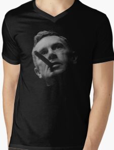 Dr Strlove - Black Transparency Mens V-Neck T-Shirt