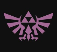 Triforce (Pink) Kids Tee