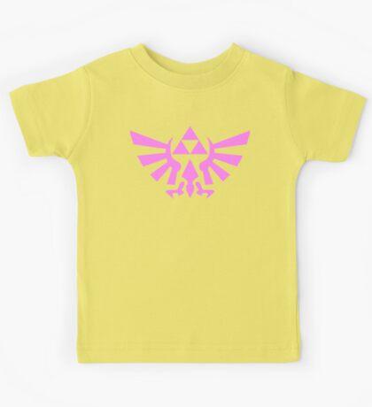 Triforce (Pink) Kids Tee