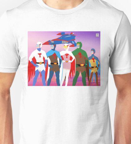 Gatchaman Minimal Style Unisex T-Shirt