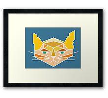 Geometric Kit Framed Print