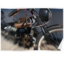 Biker Dude  Poster