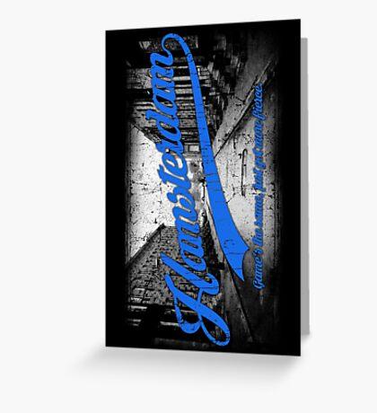 Hamsterdam - Cloud Nine Edition (Blue) Greeting Card