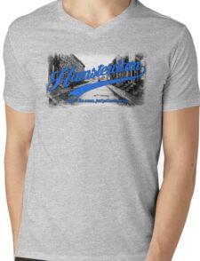 Hamsterdam - Cloud Nine Edition (Blue) Mens V-Neck T-Shirt