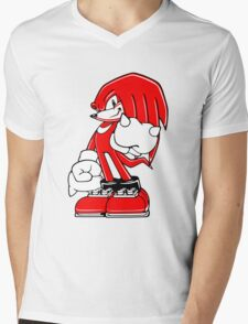 Minimalist Modern Knuckles 2 Mens V-Neck T-Shirt