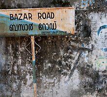 Bazar Road, Cochin by Syd Winer