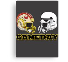 Gameday Canvas Print