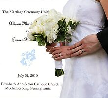 Rings, Bouquet, and Program by Russell Fry