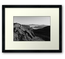 Looking to Skiddaw Framed Print