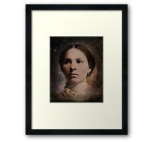 Leonette in the Heavens Framed Print