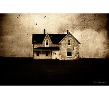 SINISTER . HOUSE Photographic Print