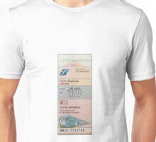 Italian Train Ticket Unisex T-Shirt