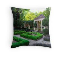 Philadelphia Garden Throw Pillow