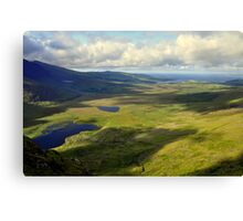 View from the Conor Pass. Canvas Print