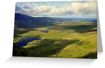 View from the Conor Pass. by Finbarr Reilly