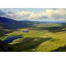 View from the Conor Pass. Photographic Print