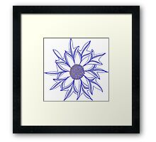 The Humble Cornflower Revisited Framed Print