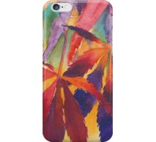 Splash of Autumn Color! iPhone Case/Skin