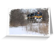 Engine No. 6446 Greeting Card
