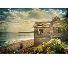 The old boat house Photographic Print