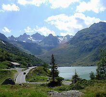 Silvretta Lake  by Ellanita