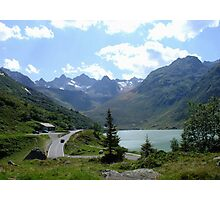 Silvretta Lake  Photographic Print