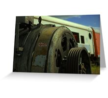 engine engine number nine Greeting Card