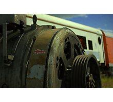 engine engine number nine Photographic Print