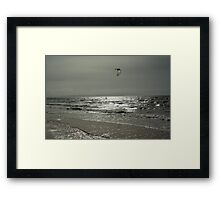 Silver Surfer - Troon Beach Framed Print