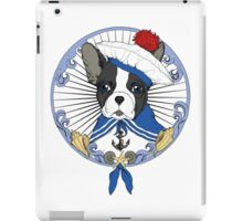 Sailor Bulldog iPad Case/Skin