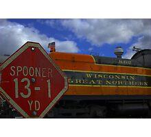 the spooner yard Photographic Print