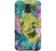 Colorful yarn pattern Samsung Galaxy Case/Skin