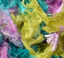 Colorful yarn pattern Sticker