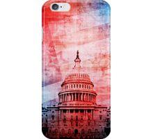 Vintage U.S. Capitol Building iPhone Case/Skin