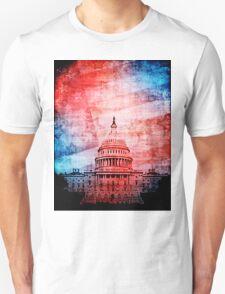 Vintage U.S. Capitol Building Unisex T-Shirt